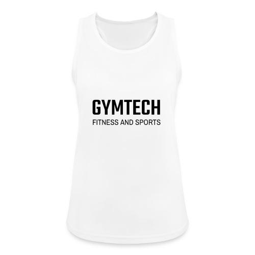 Gymtech fitness and sports - Andningsaktiv tanktopp dam