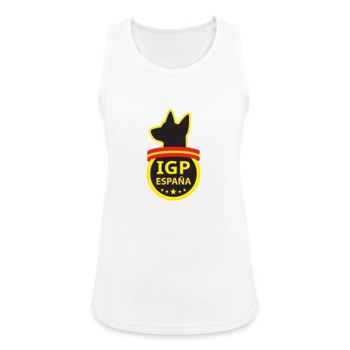 IGP España - Camiseta de tirantes transpirable mujer