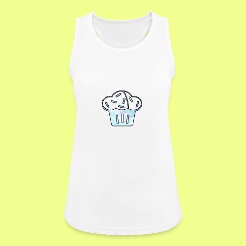 Pastel - Camiseta de tirantes transpirable mujer