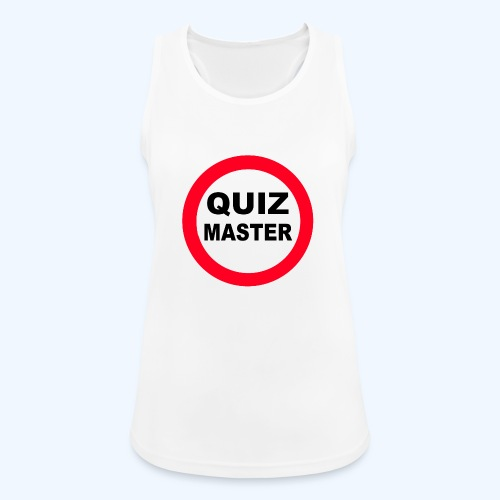 Quiz Master Stop Sign - Women's Breathable Tank Top
