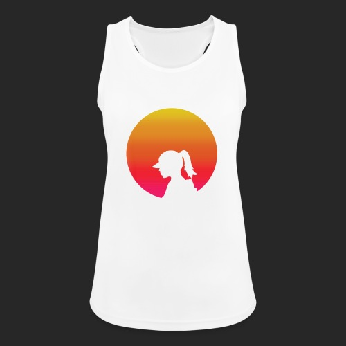 Gradient Girl - Women's Breathable Tank Top
