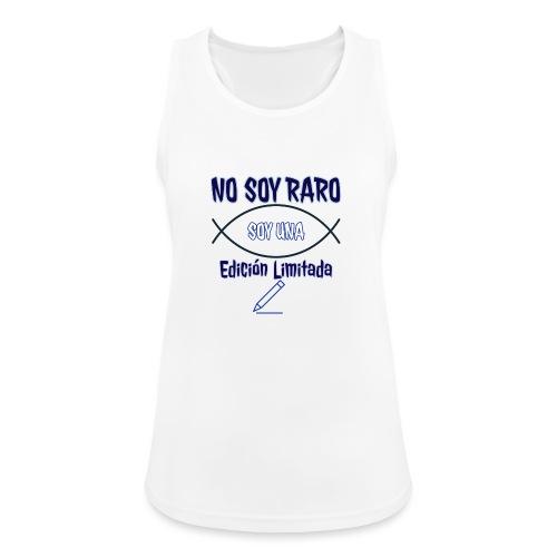 Edicion limitada - Camiseta de tirantes transpirable mujer