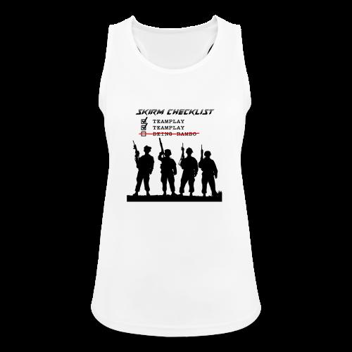 Skirm Checklist - Vrouwen tanktop ademend