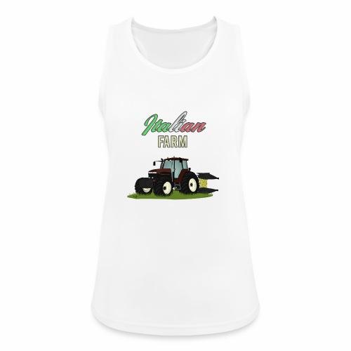 Italian Farm official T-SHIRT - Top da donna traspirante