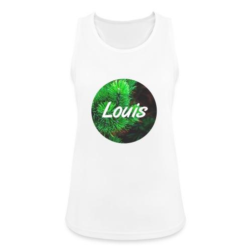 Louis round-logo - Frauen Tank Top atmungsaktiv