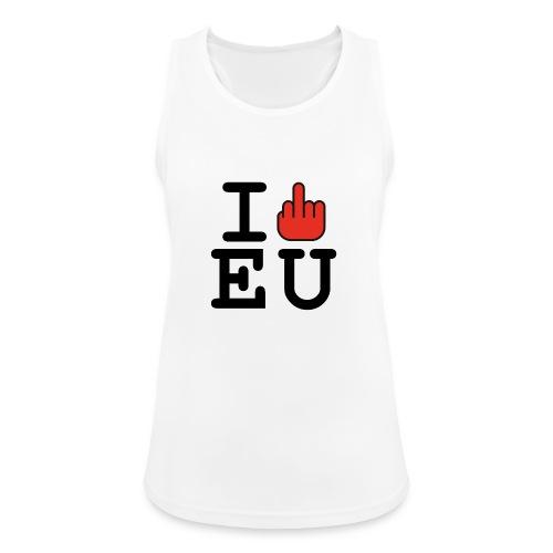 i fck EU European Union Brexit - Women's Breathable Tank Top
