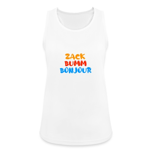 Die Zock Stube - ZackBummBonjour - Frauen Tank Top atmungsaktiv