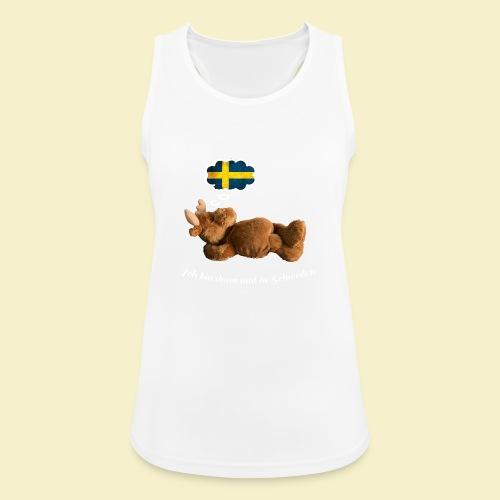 Bin dann mal in Schweden - Frauen Tank Top atmungsaktiv