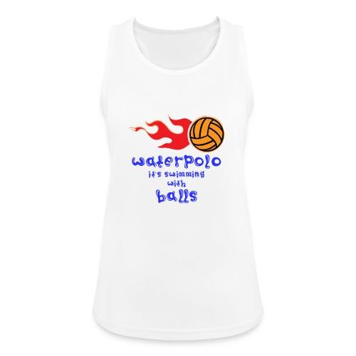 Waterpolo - Top da donna traspirante