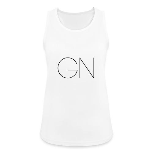 Långärmad tröja GN slim text - Andningsaktiv tanktopp dam