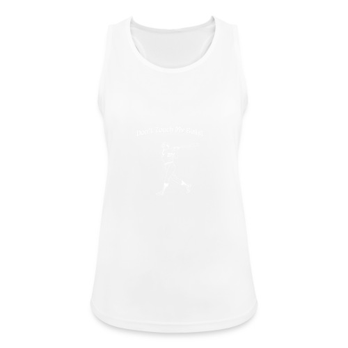 Dont touch my balls t-shirt 2 - Women's Breathable Tank Top