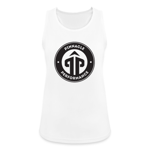 Pinnacle Performance Apparel (Black Logo) - Women's Breathable Tank Top