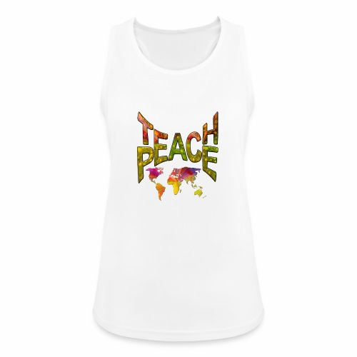 Teach Peace - Women's Breathable Tank Top