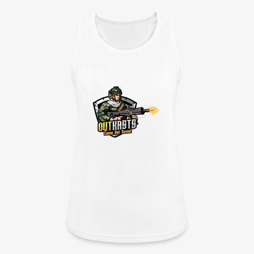 OutKasts [OKT] Logo 2 - Women's Breathable Tank Top