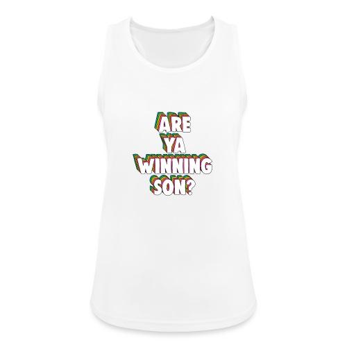 Are Ya Winning, Son? Meme - Women's Breathable Tank Top
