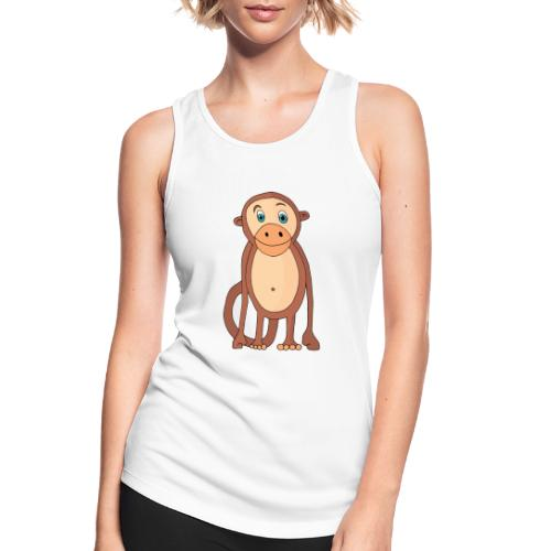 Bobo le singe - Débardeur respirant Femme