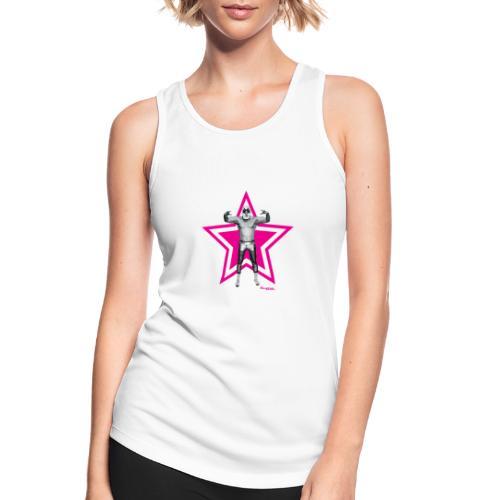 Hazy Logo - Frauen Tank Top atmungsaktiv