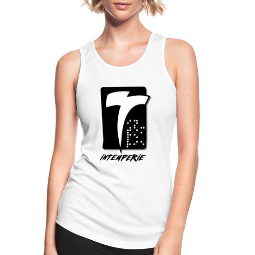 intemperie logo final fondo blanco - Camiseta de tirantes transpirable mujer