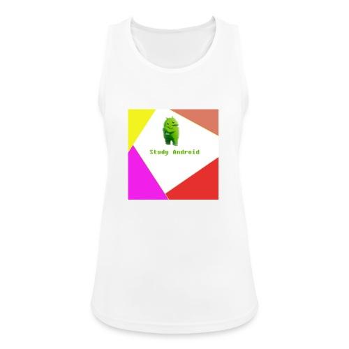 Study Android - Camiseta de tirantes transpirable mujer