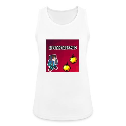 Logo kleding - Vrouwen tanktop ademend actief
