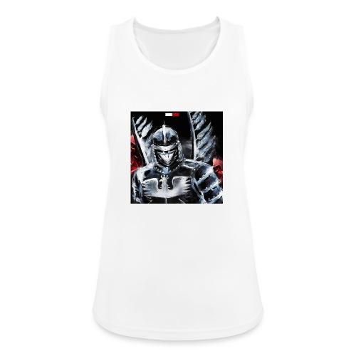 koszulka patriotyczna husaria - Tank top damski oddychający