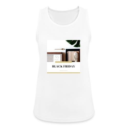 Black Friday - Camiseta de tirantes transpirable mujer