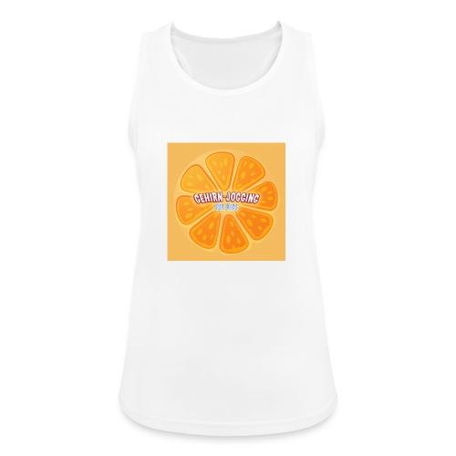 orangetextur - Frauen Tank Top atmungsaktiv