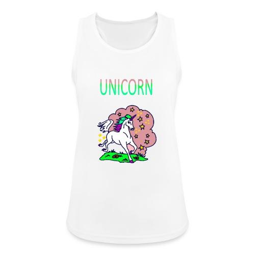 Einhorn unicorn - Frauen Tank Top atmungsaktiv