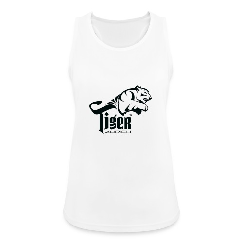 TIGER ZURICH digitaltransfer - Frauen Tank Top atmungsaktiv