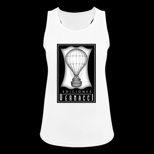 logotipo de ediciones Vernacci - Camiseta de tirantes transpirable mujer
