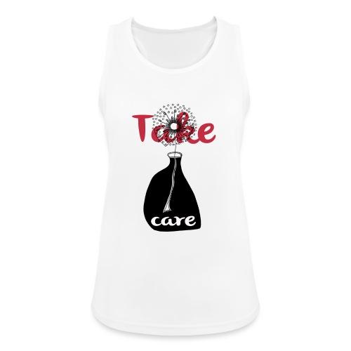 take_care - Top da donna traspirante