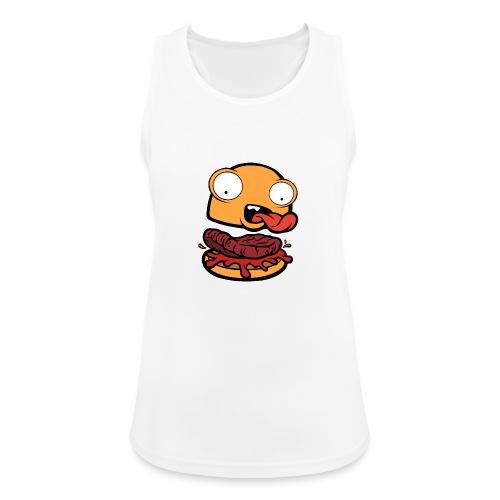 Crazy Burger - Camiseta de tirantes transpirable mujer