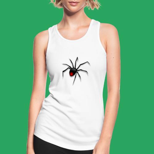 spider logo fantasy - Top da donna traspirante