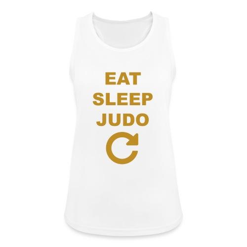 Eat sleep Judo repeat - Tank top damski oddychający