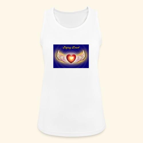 Flying Heart - Frauen Tank Top atmungsaktiv