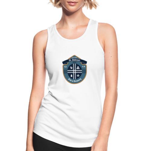 St Andrews T-Shirt - Top da donna traspirante
