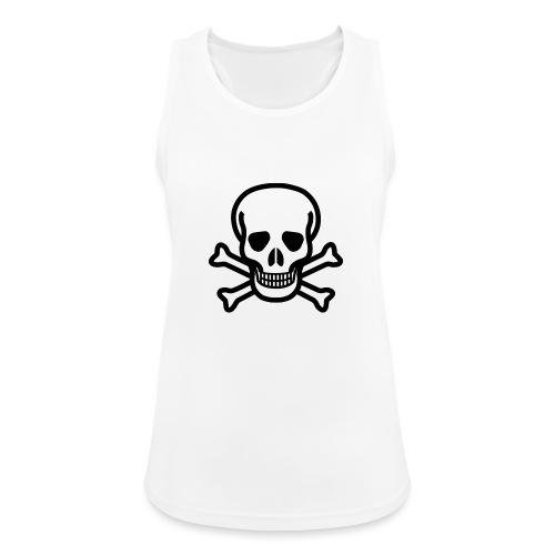 Skull and Bones - Frauen Tank Top atmungsaktiv