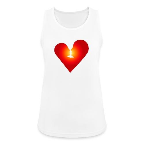 Ein Herz in Liebe - Frauen Tank Top atmungsaktiv