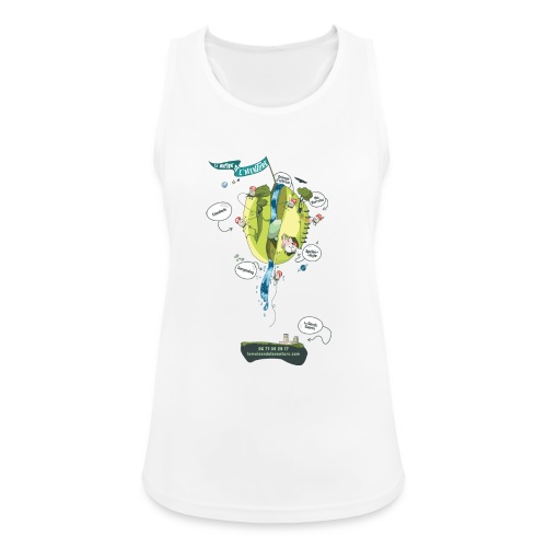 T-shirt Maison de L'aventure - Débardeur respirant Femme