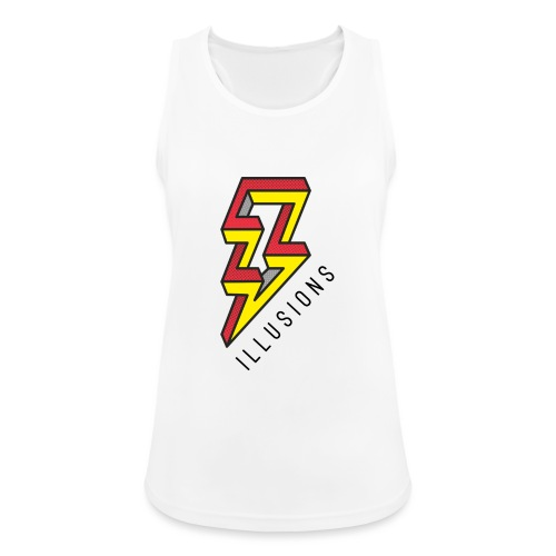 ♂ Lightning - Frauen Tank Top atmungsaktiv