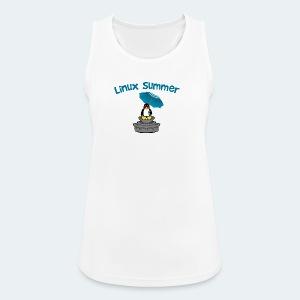 linux summer - Top da donna traspirante
