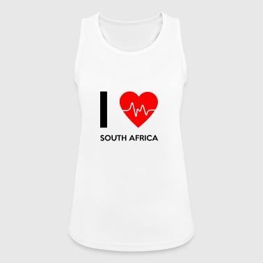 Ik houd van Zuid-Afrika - Ik houd van Zuid-Afrika - Vrouwen tanktop ademend