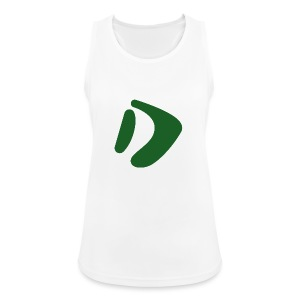 Logo D Green DomesSport - Frauen Tank Top atmungsaktiv