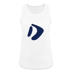 Logo D Blue DomesSport - Frauen Tank Top atmungsaktiv