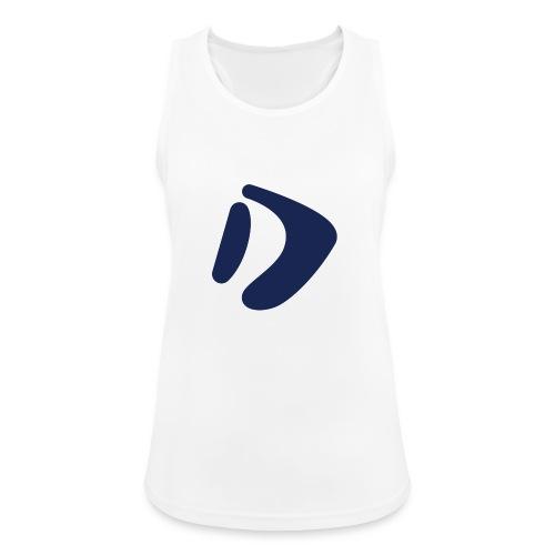 Logo D Blue DomesSport - Frauen Tank Top atmungsaktiv