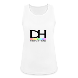 DH Health&Fitness Large logo - Women's Breathable Tank Top