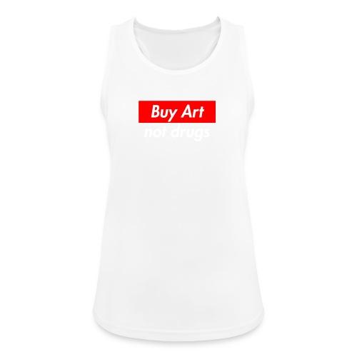 Buy Art Not Drugs - Naisten tekninen tankkitoppi