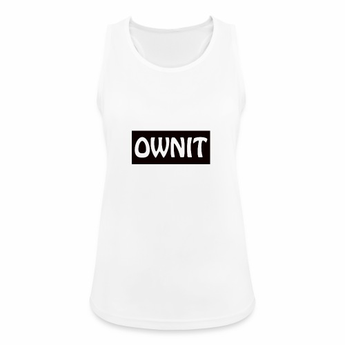 OWNIT logo - Women's Breathable Tank Top