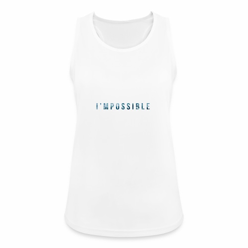 I'mpossible Waves - Women's Breathable Tank Top