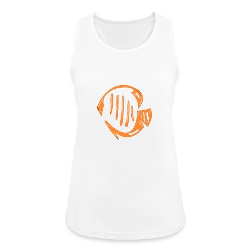 Aquarium Adventures Logo - Women's Breathable Tank Top